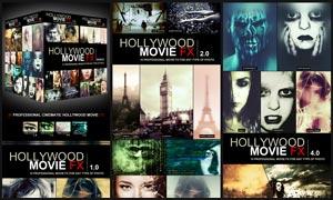 37款好莱坞电影艺术特效调色动作