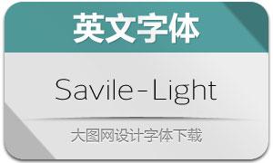 Savile-Light(英文字体)