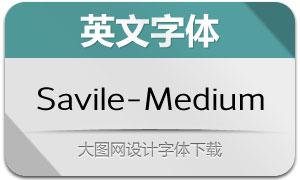 Savile-Medium(英文字体)