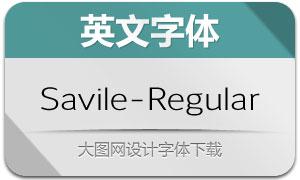 Savile-Regular(英文字体)