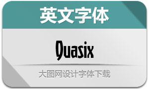 Quasix(创意英文字体)