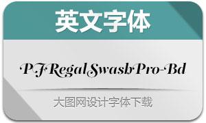 PFRegalSwashPro-Bd(英文字体)