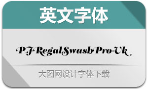 PFRegalSwashPro-Uk(英文字体)