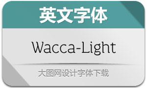 Wacca-Light(英文字体)