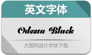 Odesta-Black(英文字体)
