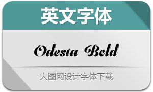 Odesta-Bold(英文字体)
