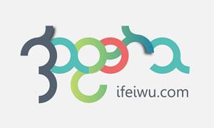 时尚字体风格的网站LOGO教程源文件