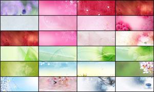25张天猫温馨粉色海报背景图片