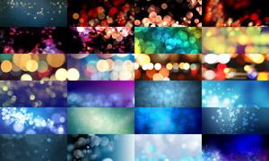 25张淘宝光斑散景广告背景图片