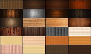 25张复古木地板淘宝海报背景图片