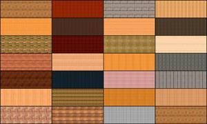 27张淘宝古典木纹海报背景图片