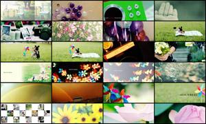 25张淘宝日系甜美广告背景图片