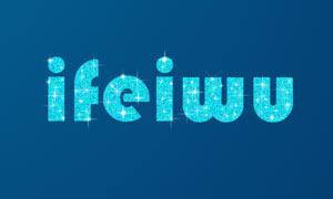 星光闪烁的文字动画PS教程素材