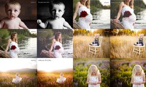 EHP系列照片怀旧和清晰效果动作