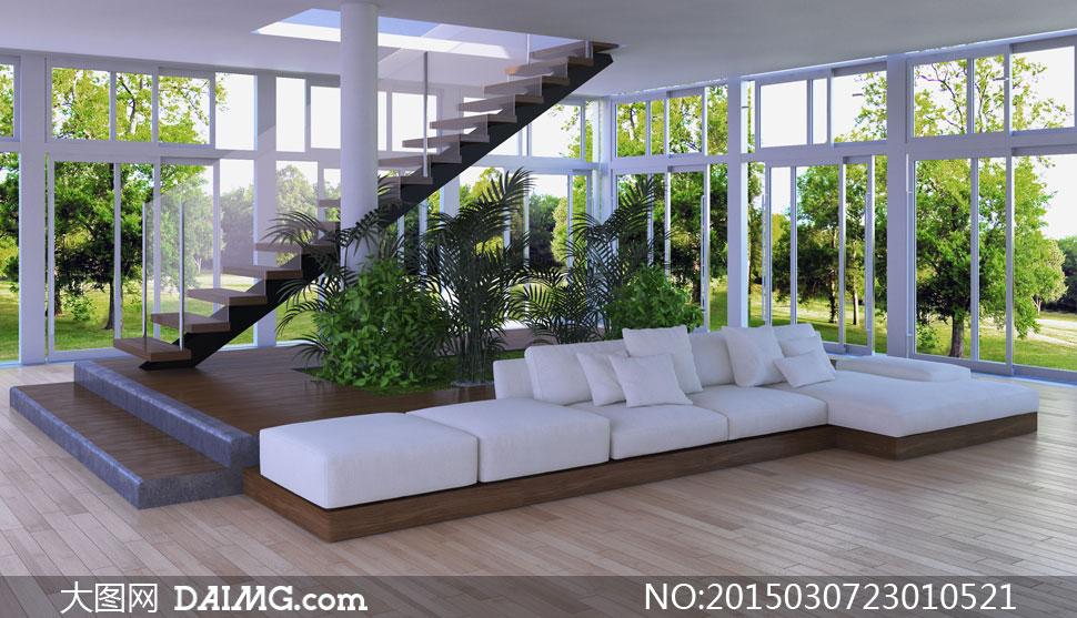 大树主题室内装饰