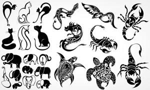 素材图案矢量创意设计刺青纹身v1室内设计3dmax装哪个版本图片