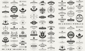 标签与徽章等主题创意矢量素材V01