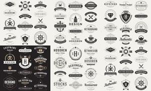 标签与徽章等主题创意矢量素材V02