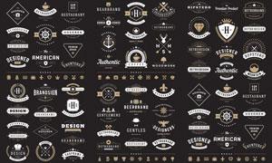 标签与徽章等主题创意矢量素材V04
