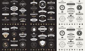 标签与徽章等主题创意矢量素材V05
