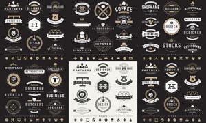 标签与徽章等主题创意矢量素材V06