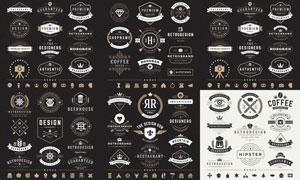 标签与徽章等主题创意矢量素材V07