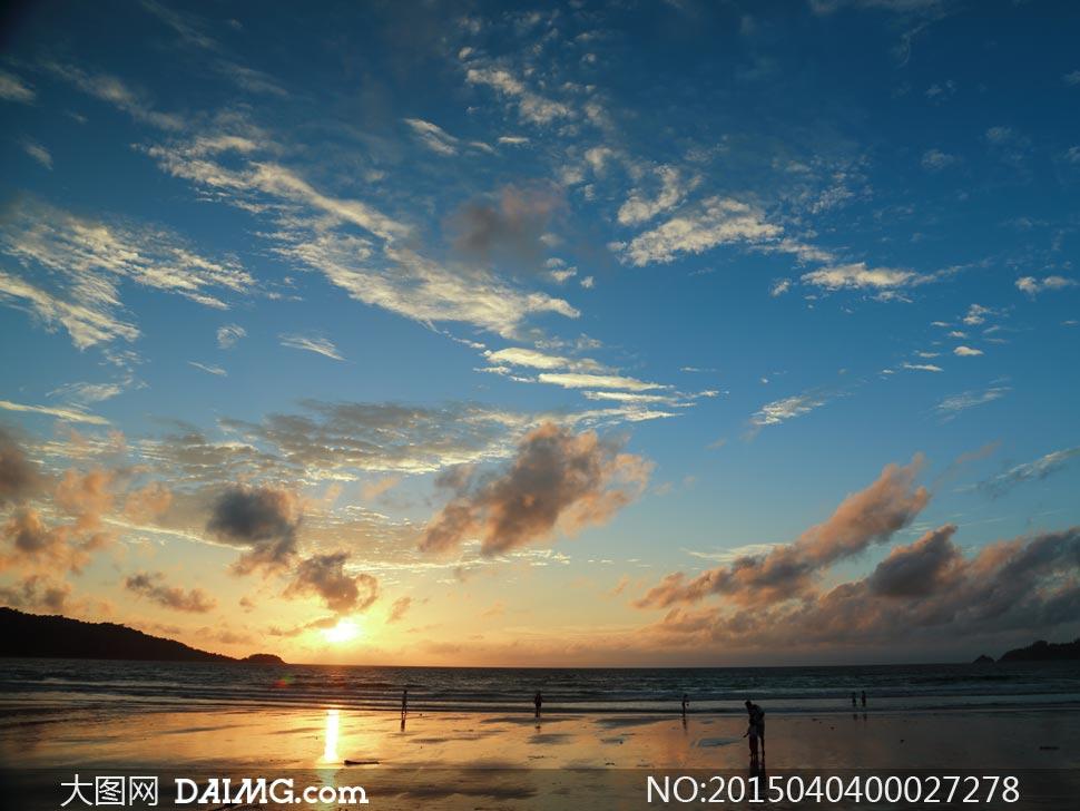 泰国普吉岛海边风景摄影图片