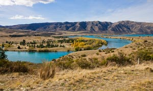 新西兰美丽外景摄影图片