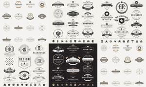 标签与徽章等主题创意矢量素材V09