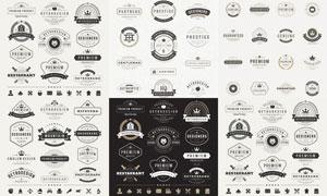标签与徽章等主题创意矢量素材V10