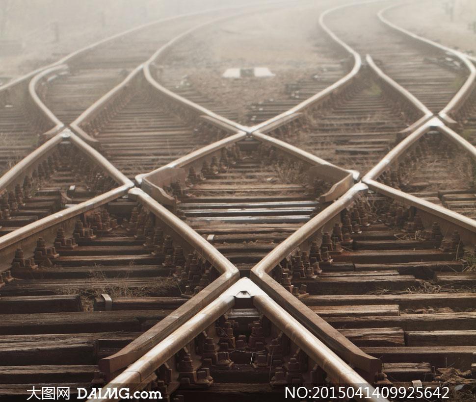 铁轨轨道铁路铁道