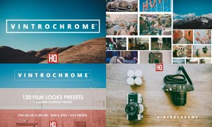 120款VintChrome系列老式相机效果LR预设