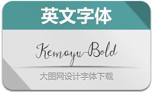 Kemayu-Bold(手写英文字体)