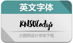 RNS-Oladys(手写英文字体)