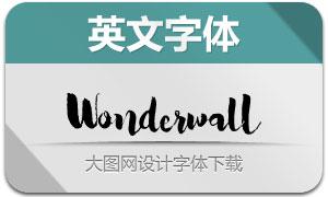 Wonderwall(手写英文字体)