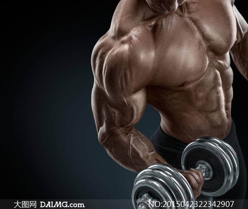 高清大图图片素材摄影人物体育运动健身健康肌肉