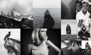 数码照片质感的黑白效果LR预设