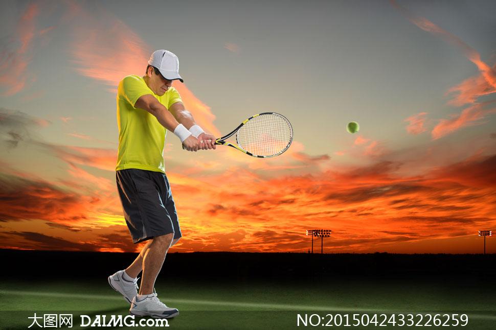 网球摄影_网球摄影图_网球_明星偶像_人物图库_摄影图