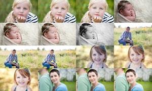 20款人像照片美白和美化效果LR预设