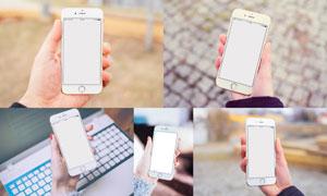 拿在手里的iPhone6效果展示源文件