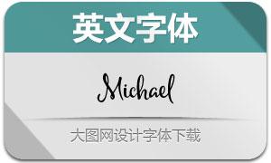 Michael(手写英文字体)