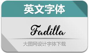 Fadilla(手写英文字体)