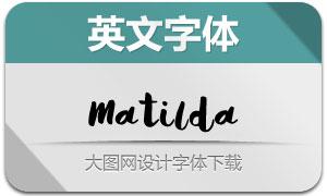 Matilda(手写英文字体)