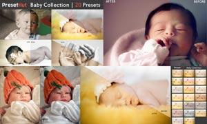 20款宝宝照片艺术效果LR预设
