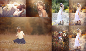 EmilySoto系列秋季暖黄效果PS动作