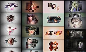 25款创意的照片边框效果PSD模板