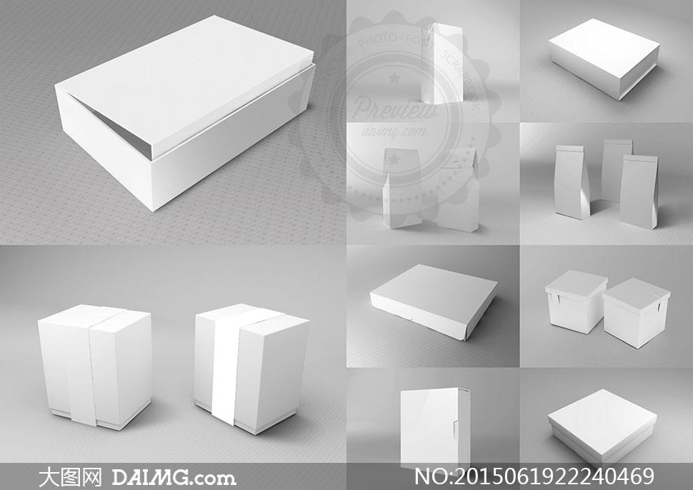 淘宝上传图片尺寸要求_产品外包装盒效果展示贴图分层模板 - 大图网daimg.com