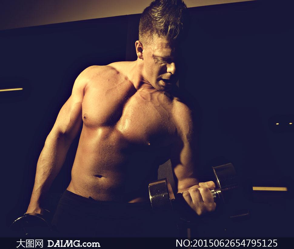 高清大图图片素材摄影健身运动人物肌肉男