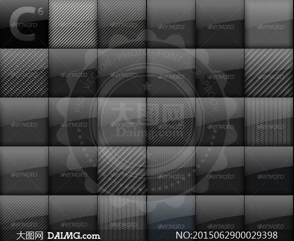 碳纤维纹理背景ps填充图案