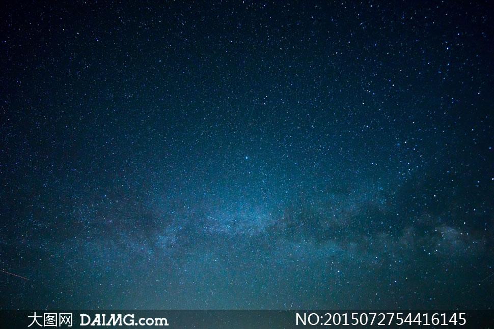 关键词: 高清大图图片素材摄影自然风景风光天空夜空星空星星繁星